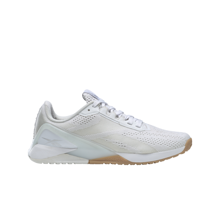 Reebok Nano X1 Women's Shoes, Cloud White/True Grey/Rubber Gum
