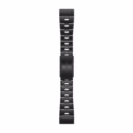 "Garmin zamjenski remen za Fenix 6X, QuickFit 26"", Carbon Gray DLC Titanium"