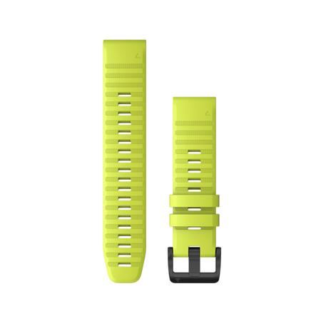 "Garmin zamjenski remen za Fenix 6, silikonski, QuickFit 22"", Amp Yellow"