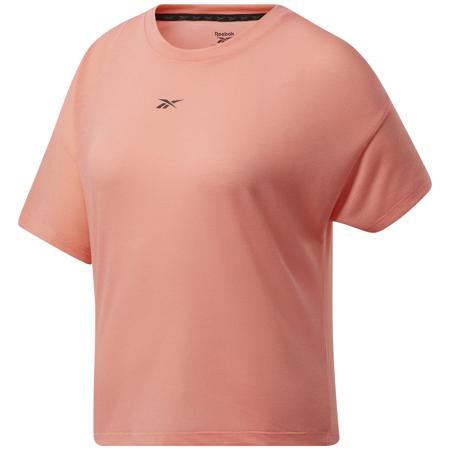 Reebok Workout Ready Supremium SS Women's Shirt, Twisted Pink