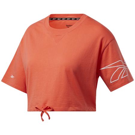 Reebok MYT Cropped SS Shirt, Orange