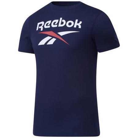 Reebok Graphic Series Stacked Tee, Vector Navy