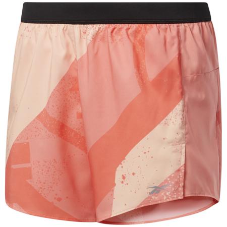 Reebok Run Essentials AOP Women's Shorts 5in, Twisted Pink