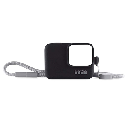 GoPro Sleeve + Lanyard, Black