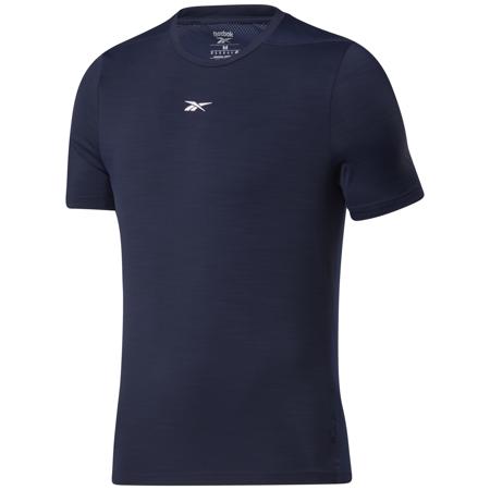 Reebok Tech Style Activchill Move Short Sleeve Shirt, Vector Navy
