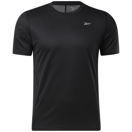 Reebok Running Speedwick Short Sleeve Shirt, Black