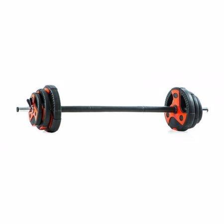 Gymstick komplet vinil utega sa šipkom, 20 kg