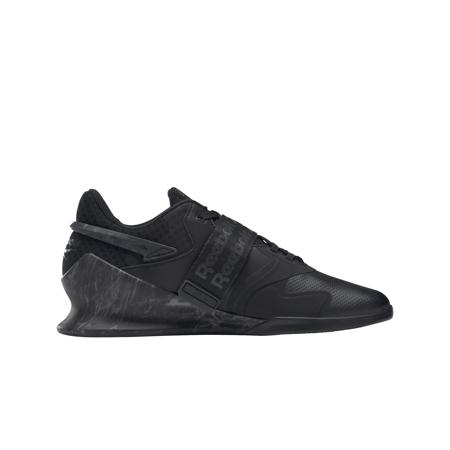 Reebok Legacy Lifter II Shoes, Core Black/Pure Grey