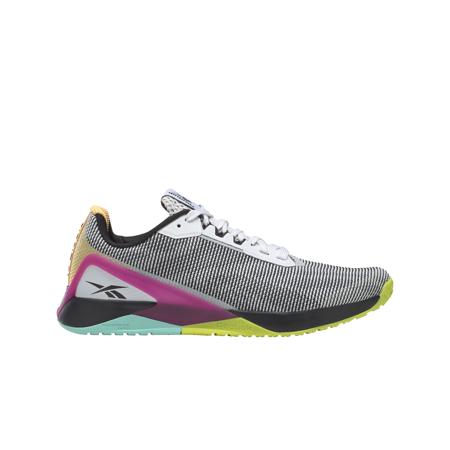 Reebok Nano X1 Grit Women's Shoes, White/Black/Pursuit Pink