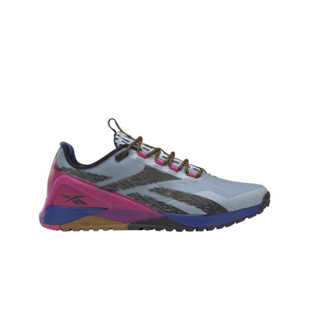 Reebok Nano X1 Adventure Women's Shoes, Gable Grey/Cobalt/Pursuit Pink