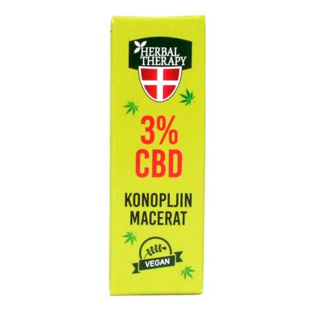 Konopljin macerat 3% CBD, 10 ml