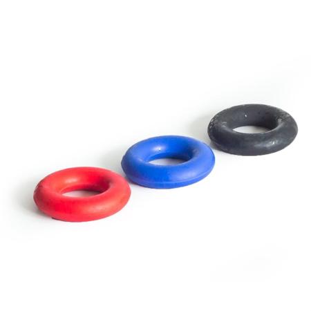 Guma za jačanje šake i podlaktice, crna