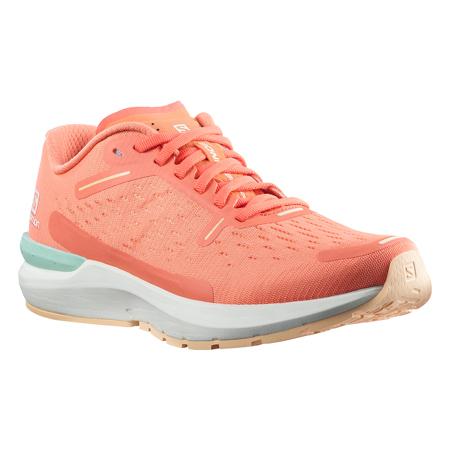 Salomon Sonic 4 Balance Women's Shoes, Persimon/White/Almond