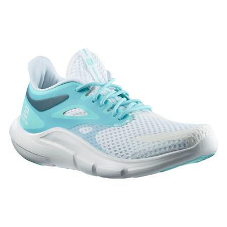 Salomon Predict MOD Women's Shoes, White/Tanager Turquoise