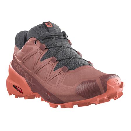 Salomon SpeedCross 5 Women's Shoes, Brick Dust/Persimon