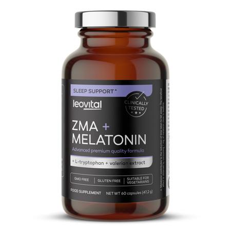 ZMA + Melatonin, 60 kapsul