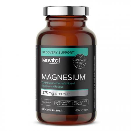 Magnesium, 90 kapsul