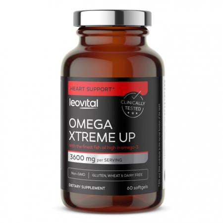 Omega Xtreme Up, 60 softgel kapsul