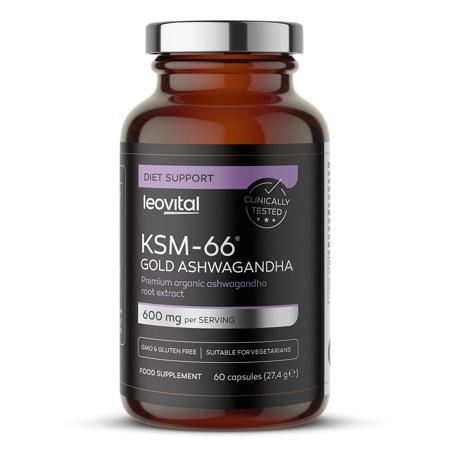 KSM-66 Gold Ashwagandha, 60 kapsula