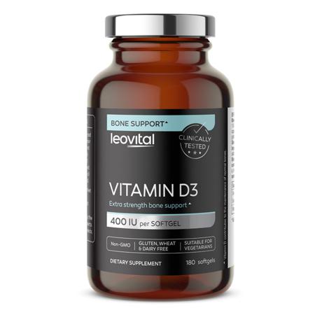 Vitamin D3, 180 kapsula