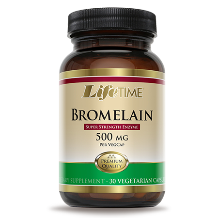 Bromelain, 30 kapsula