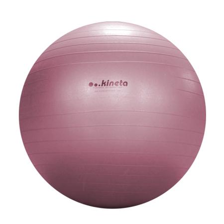 Pilates žoga, 65 cm siva