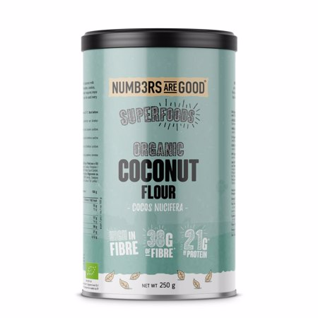 Coconut Flour, Organic, 250 g