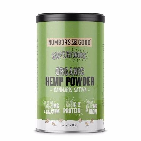Hemp Protein Powder, Organic, 500 g