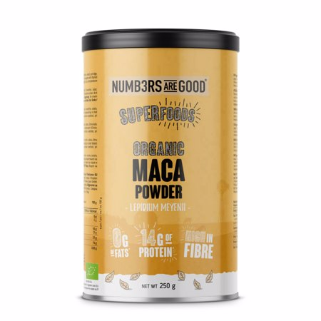 Maca Powder, Organic, 250 g