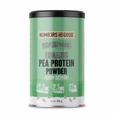 Pea Protein Powder, Organic, 500 g