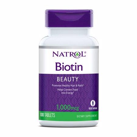 Biotin 1000 mcg, 100 tablet