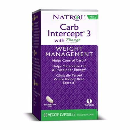 Carb Intercept 3 with Phase2, 60 kapsula