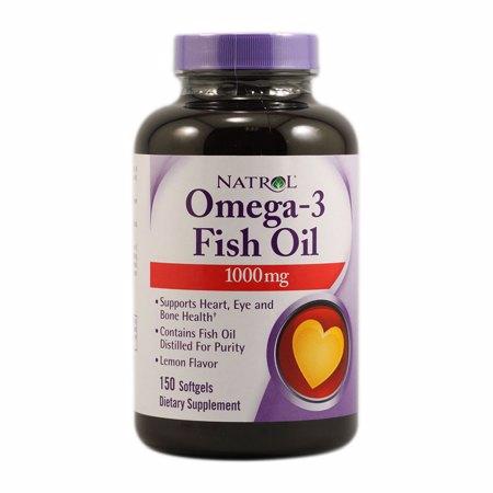 Omega-3 1000 mg, 150 Kapseln