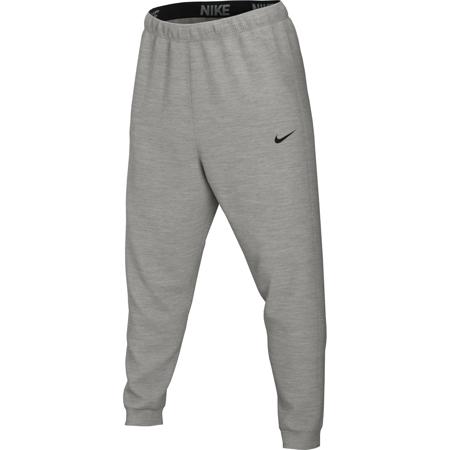Nike Dri-Fit Tapered Pants, Dark Grey Heather/White