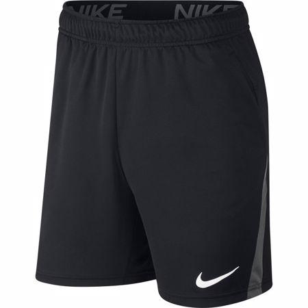 "Nike Dri-Fit 9"" Training Shorts, Black/Grey"