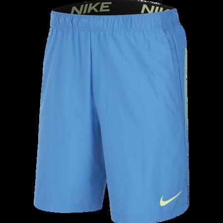Nike Training Flex 2.0 Shorts, Pacific Blue/Black/Green
