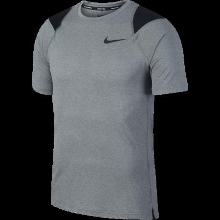 Shirt Nike Pro Breathe SS Smoke Grey/Heather/Black