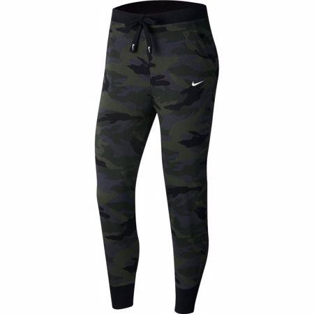 Nike Dri-Fit Get Fit Women's 7/8 Camo Training Pants, Thunder Grey/White