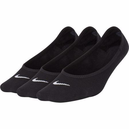 Nike Lightweight No-Show Socks (3 Pair), Black/White