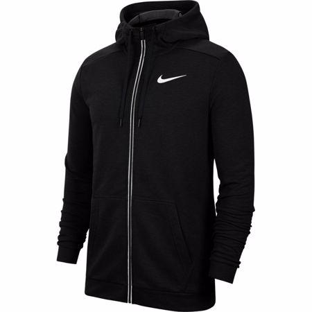 Nike Dri-Fit Full-Zip Training Hoodie, Black