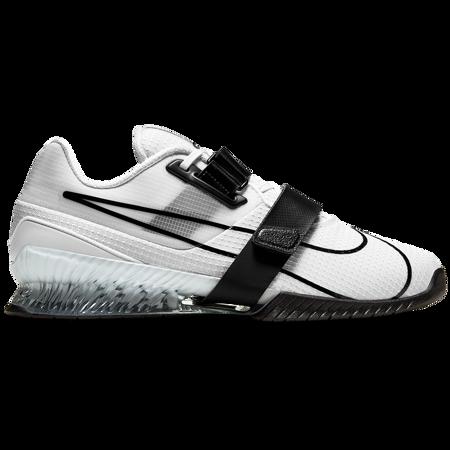 Nike Romaleos 4 Weightlifting Shoe, White/Black
