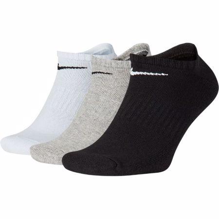 Nike Everyday Cushion No-Show Training Socks, 3 Pair, Multicolor