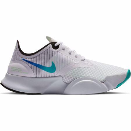 Nike SuperRep Go Women's Shoes, White/Black/Grey/Flash Crimson