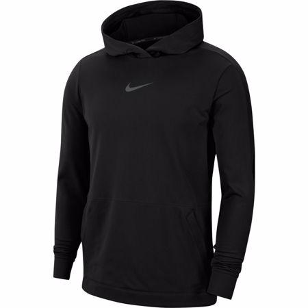 Nike Pro Fleece 2.0 Hoodie, Black/Iron Grey