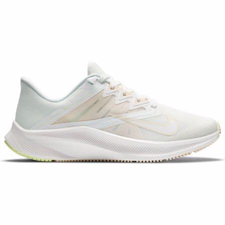 Nike Quest 3 Women's Running Shoe, White/Volt/Ice