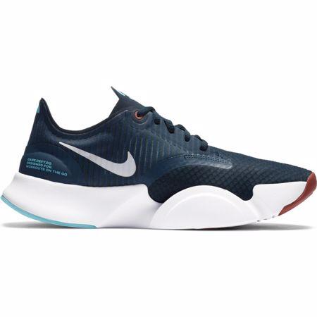 Nike Super Rep GO Training Shoe, Deep Ocean/Pure Platinum/White