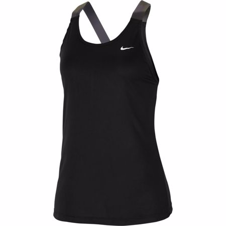 Nike Pro Elastika Camo Tank, Black/White