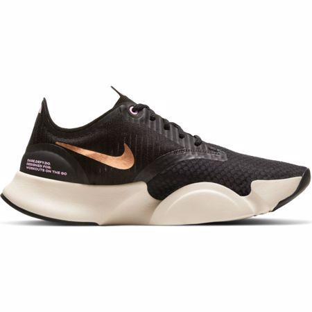 Nike Super Rep GO Women's Training Shoes, White/Black/Metallic Copper