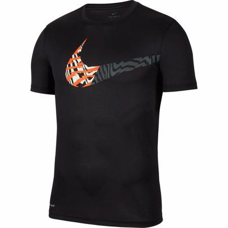 Nike Dri-Fit Legend Swoosh Training T-Shirt, Black