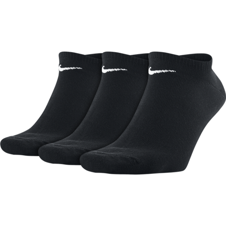 Nike Cushioned No-Show Sock, 3 Pair, Black